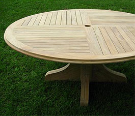 Custom Teak Table
